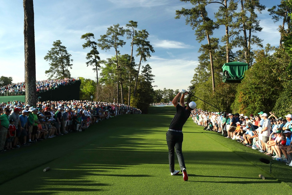 Thang play-off, Sergio Garcia vo dich The Masters hinh anh 9