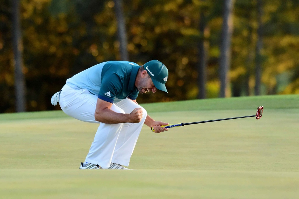 Thang play-off, Sergio Garcia vo dich The Masters hinh anh 10