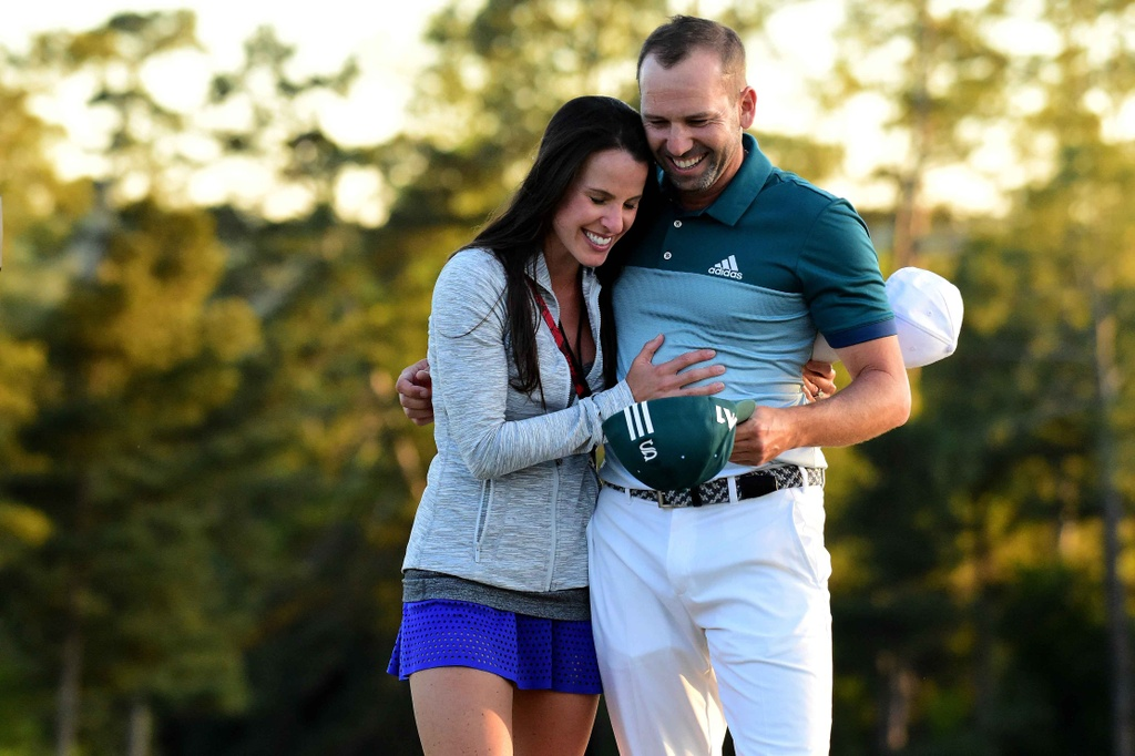Thang play-off, Sergio Garcia vo dich The Masters hinh anh 12