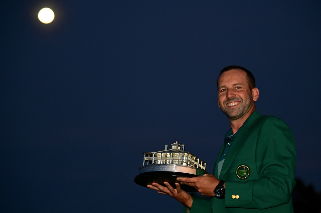 Thang play-off, Sergio Garcia vo dich The Masters hinh anh 15