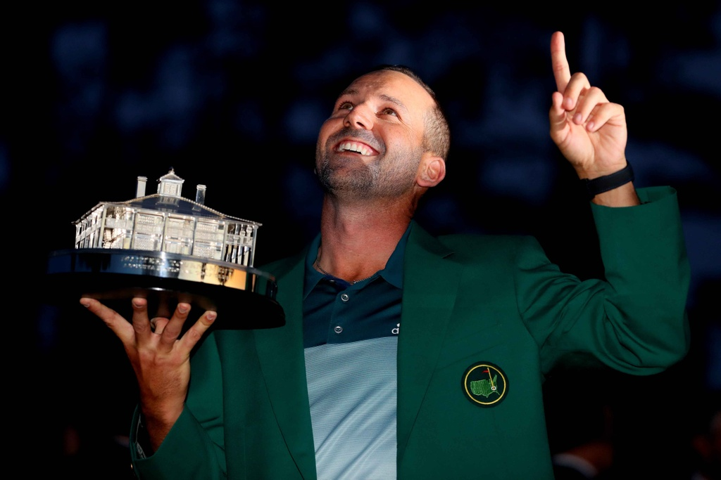 Thang play-off, Sergio Garcia vo dich The Masters hinh anh 14