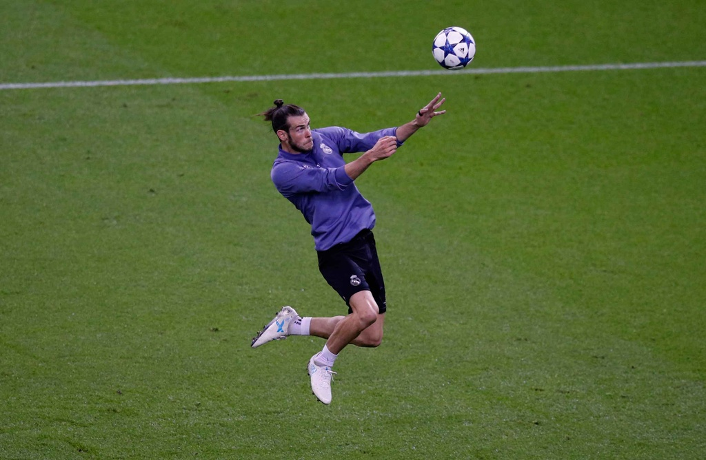 Ronaldo luyen dut diem truoc chung ket Champions League hinh anh 10