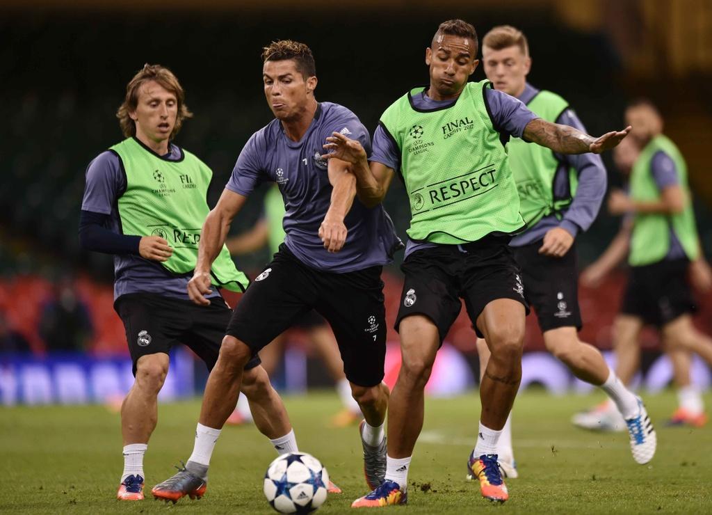 Ronaldo luyen dut diem truoc chung ket Champions League hinh anh 3