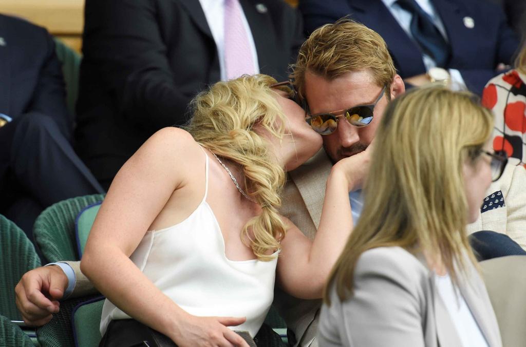 Beckham dua me den san co vu Murray anh 8