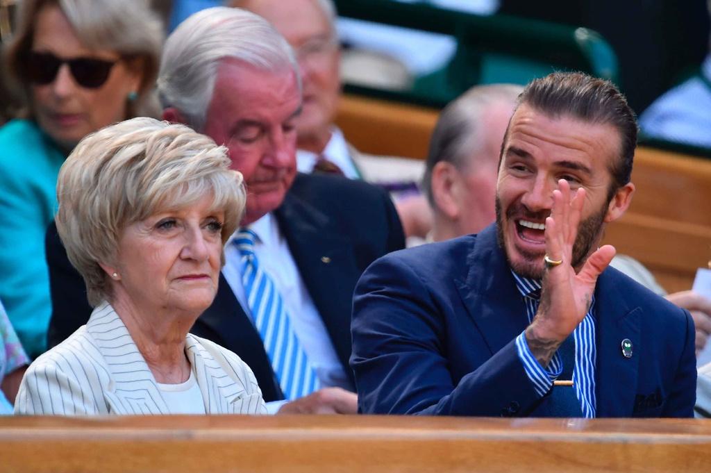 Beckham dua me den san co vu Murray anh 3