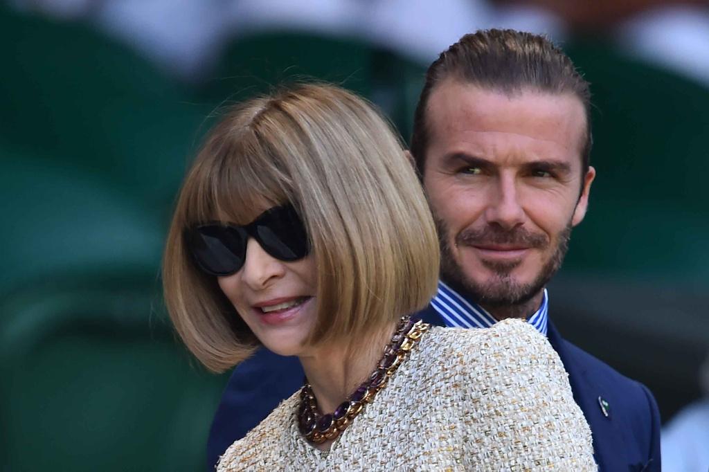 Beckham dua me den san co vu Murray anh 6