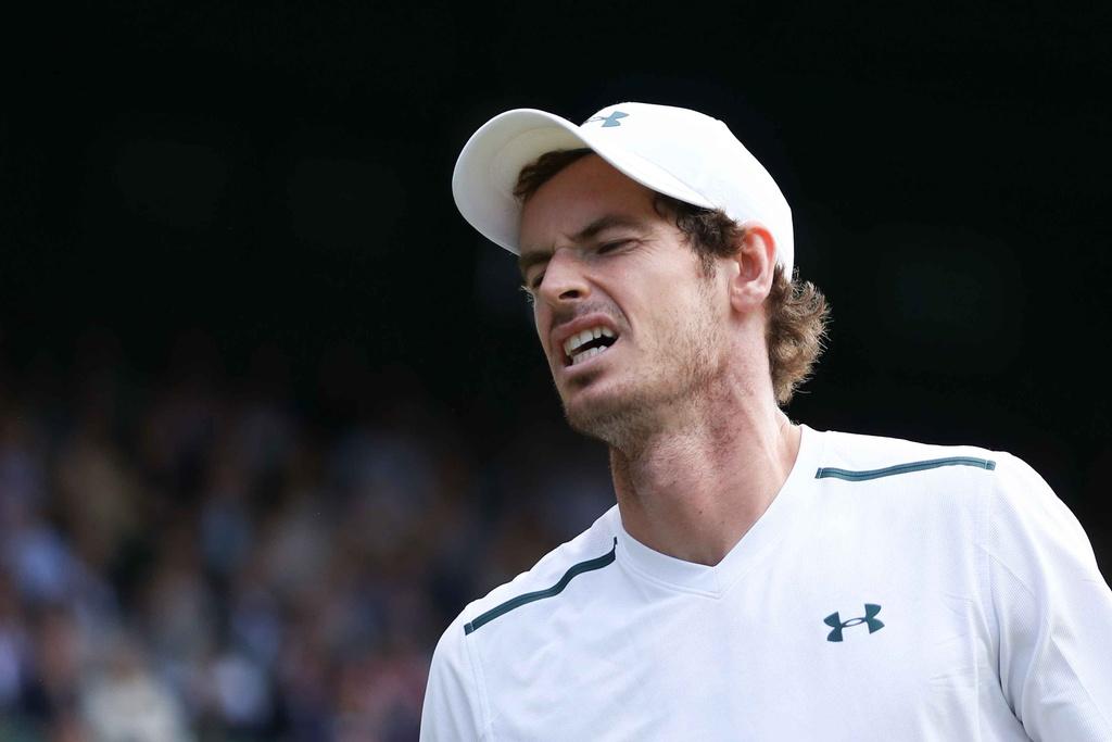 Murray chia tay Wimbledon anh 8