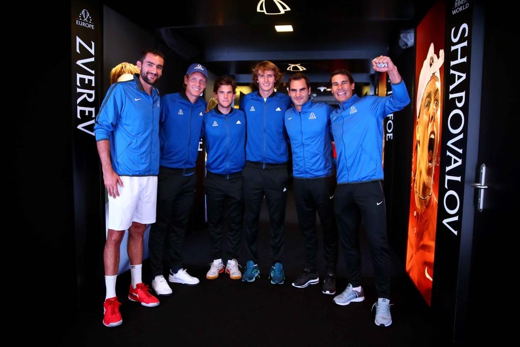 Federer, Nadal thang nhoc nhan trong lan dau danh cap hinh anh 2