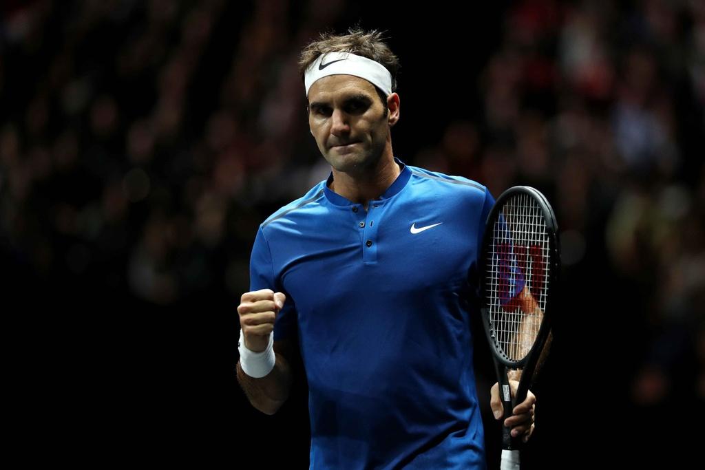 Federer, Nadal thang nhoc nhan trong lan dau danh cap hinh anh 10