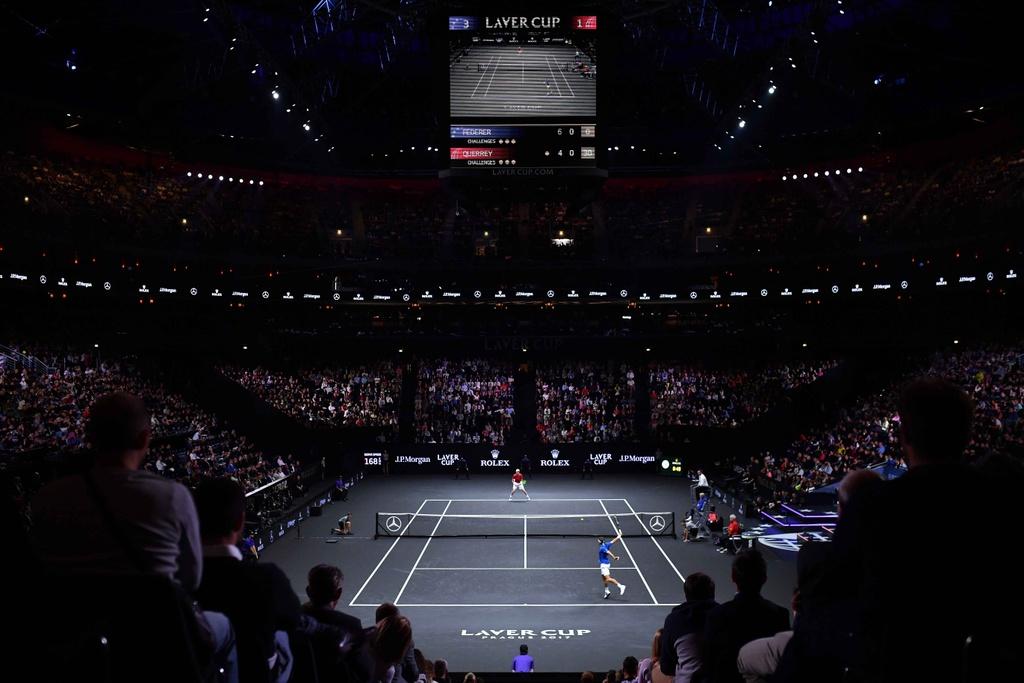 Federer, Nadal thang nhoc nhan trong lan dau danh cap hinh anh 3