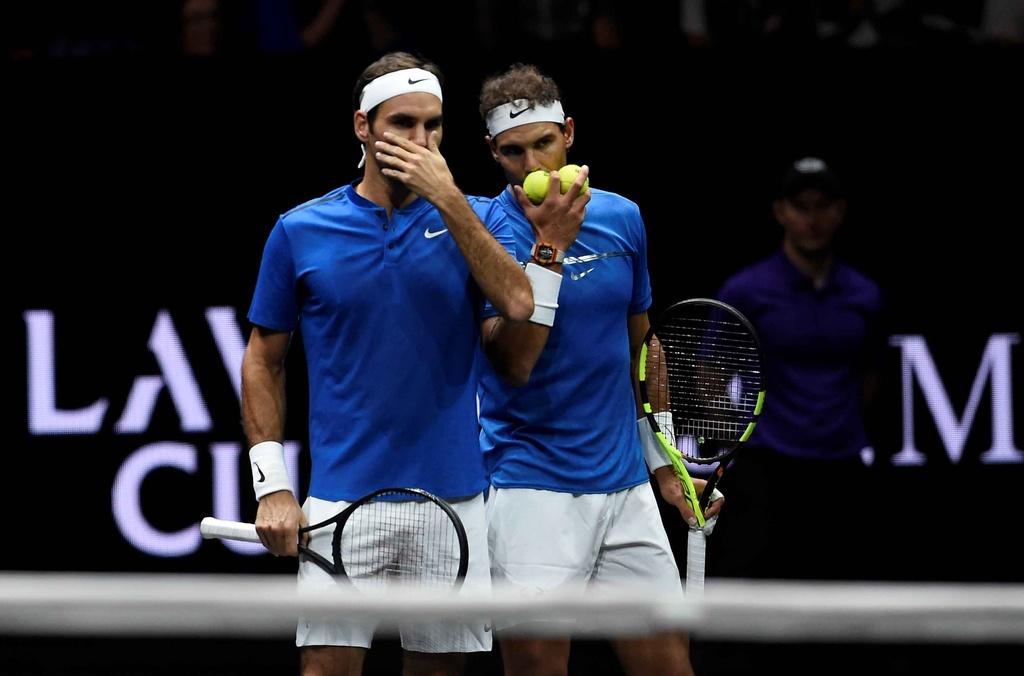 Federer, Nadal thang nhoc nhan trong lan dau danh cap hinh anh 6