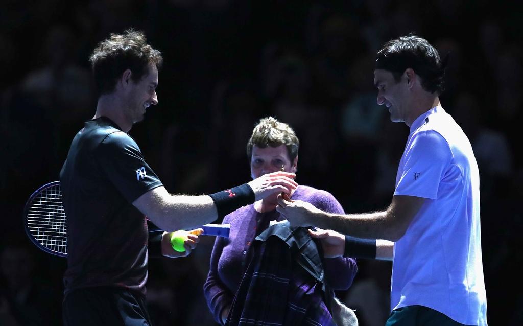 Federer mac vay danh bai Murray hinh anh 4