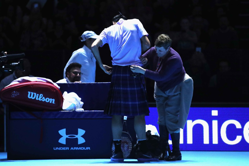 Federer mac vay danh bai Murray hinh anh 5