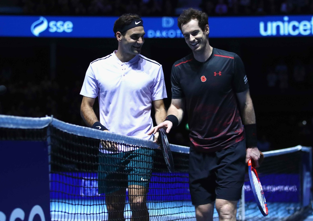 Federer mac vay danh bai Murray hinh anh 11