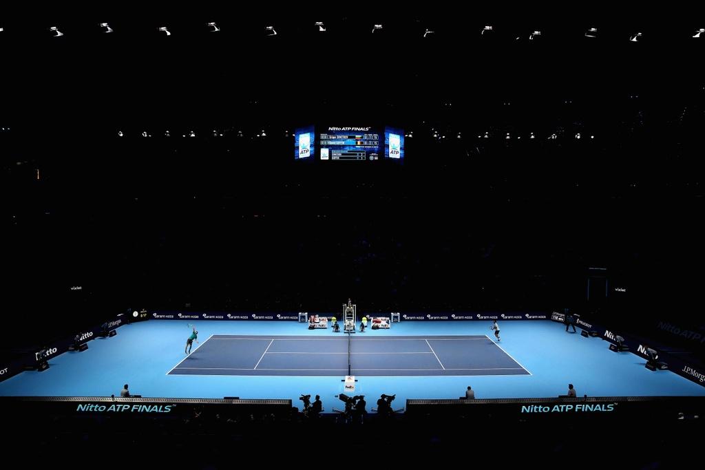 'Tieu Federer' guc xuong hanh phuc mung danh hieu lon nhat su nghiep hinh anh 1