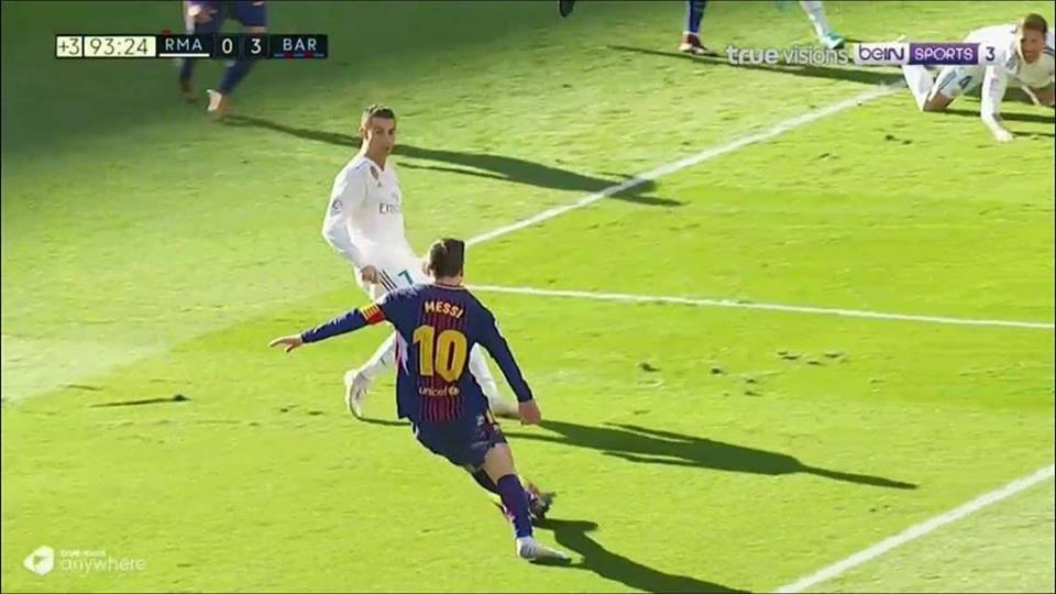 Roi mat giay, Messi van tung don ket lieu Real hinh anh 2