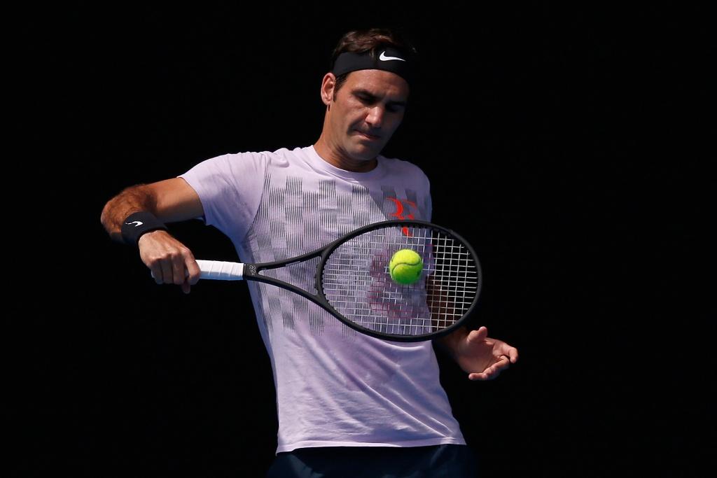 Sharapova hang say tap luyen cho tai xuat Australian Open hinh anh 7
