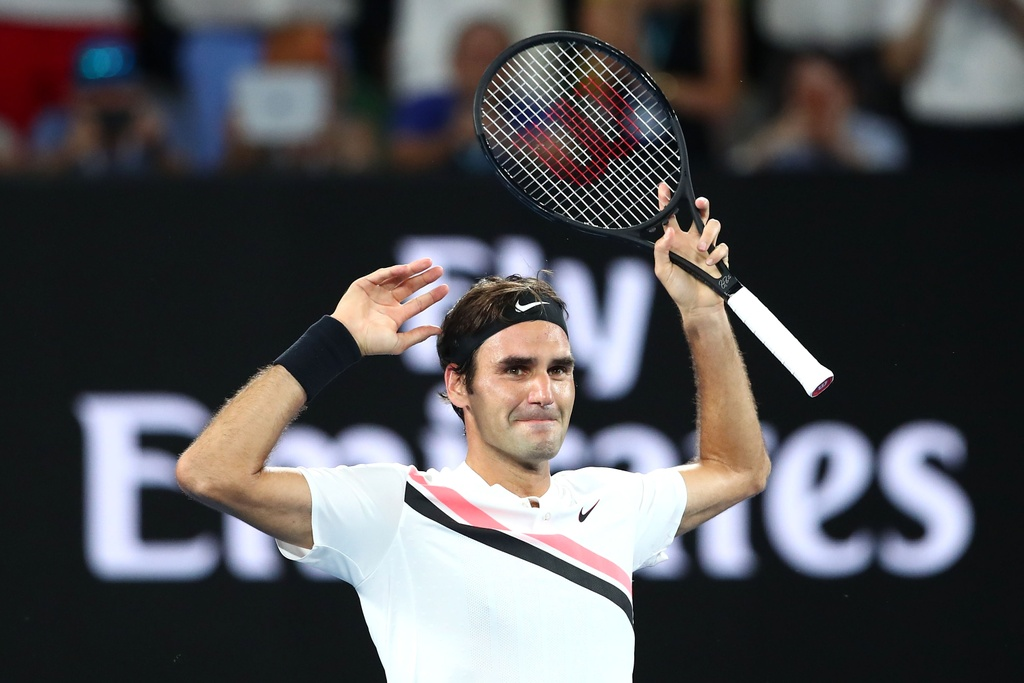 Federer dam nuoc mat tren buc nhan Grand Slam thu 20 hinh anh 1