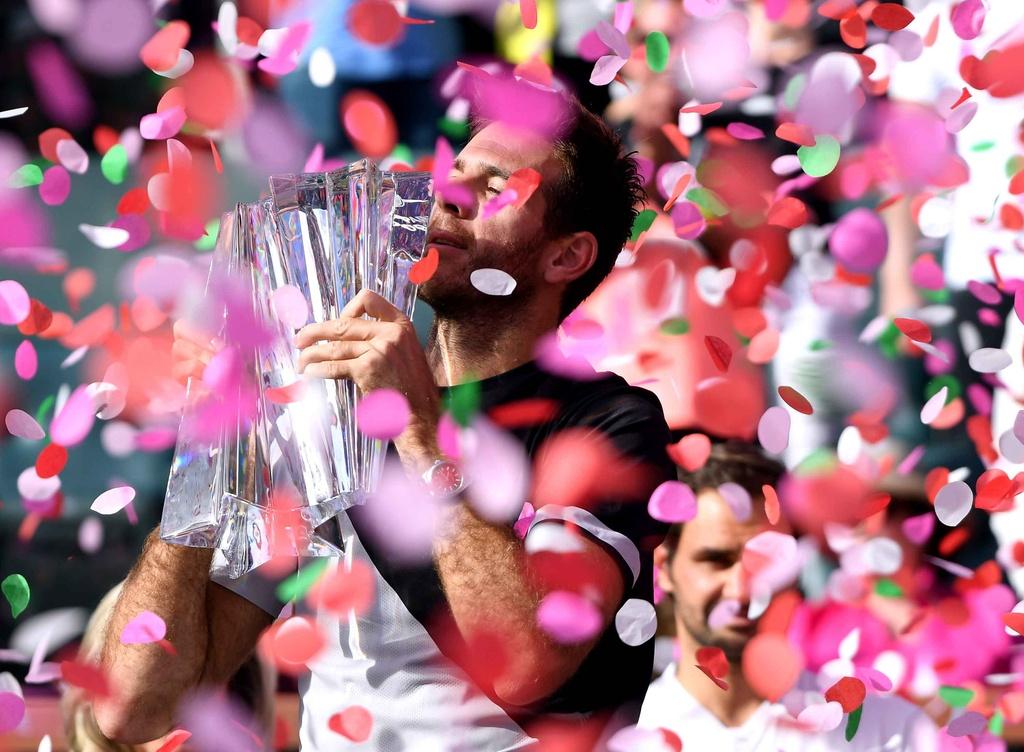 Federer vuot danh hieu Indian Wells anh 13