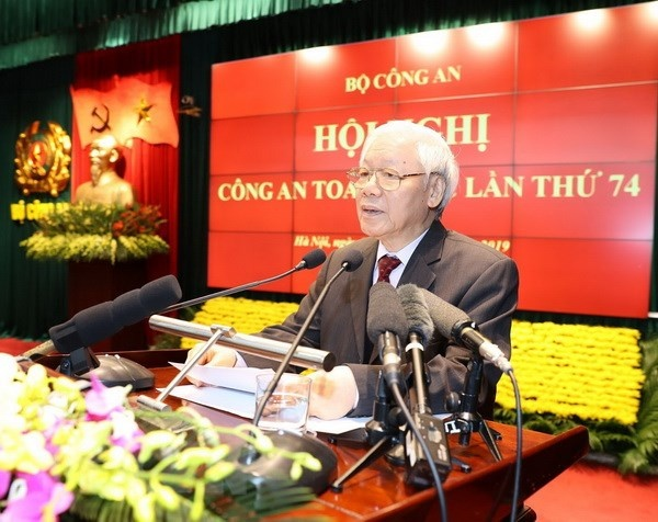 Hoi nghi Cong an toan quoc anh 1
