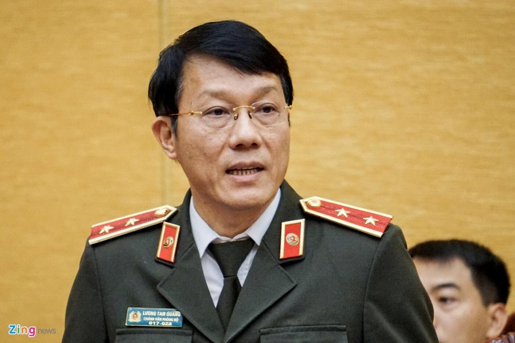 Chuyen gi xay ra o Dong Tam rang sang 9/1? hinh anh 1 Thu_truong_Luong_Tam_Quang_zing.jpg