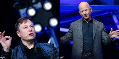 Su menh Artemis cua NASA duoc trao cho cong ty cua Elon Musk va Jeff Bezos anh 1