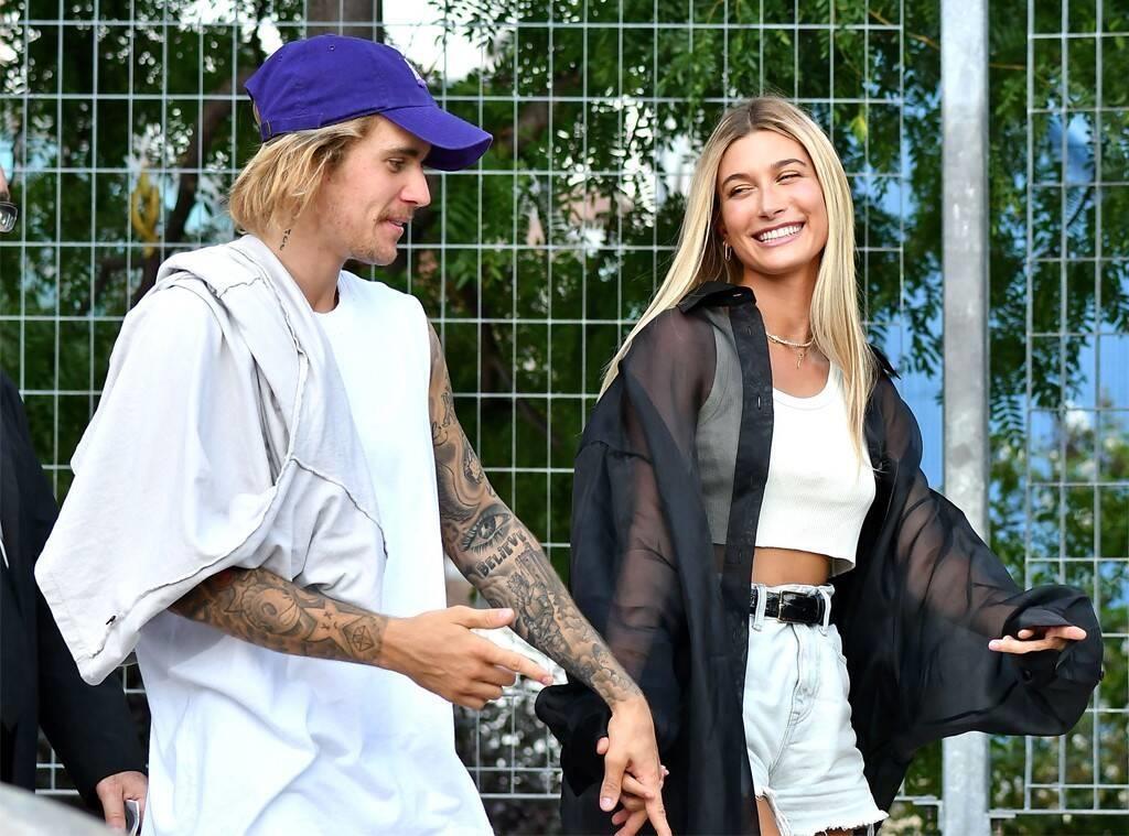 Justin Bieber xuong pho trong nhu ong chu du vo an dien xinh dep hinh anh