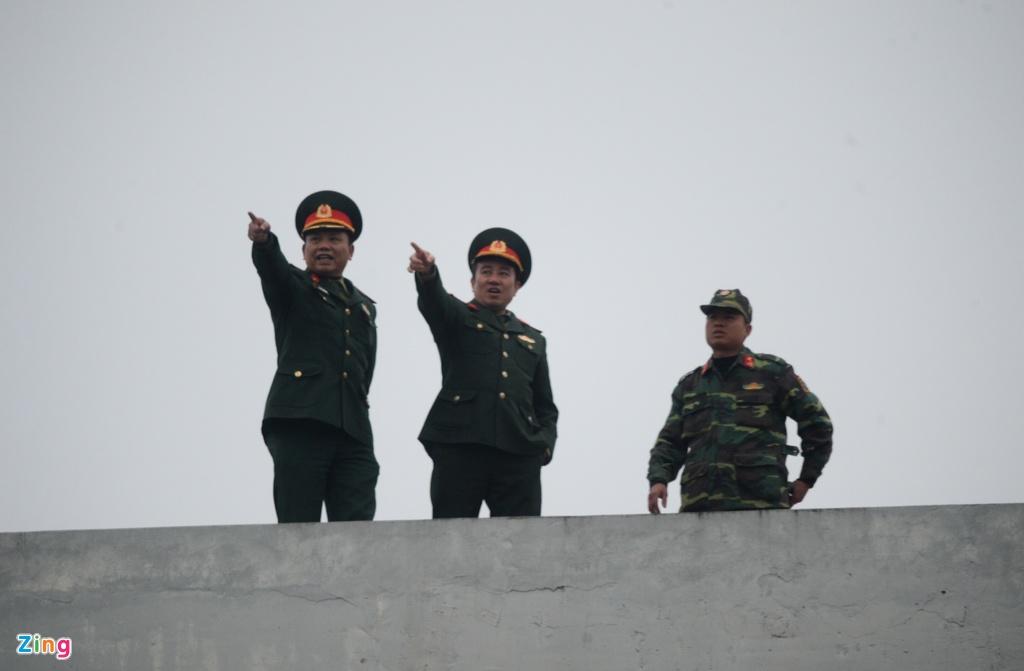 Phong toa cac cao diem gan ga Dong Dang truoc gio don ong Kim Jong Un hinh anh 11