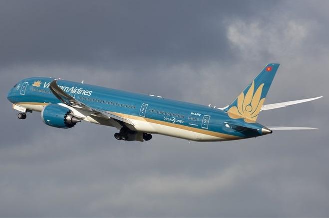 Vietnam airlines may man tranh tai nan tham khoc anh 1