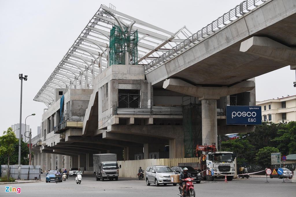 Metro Nhon - Ga Ha Noi doi von anh 1