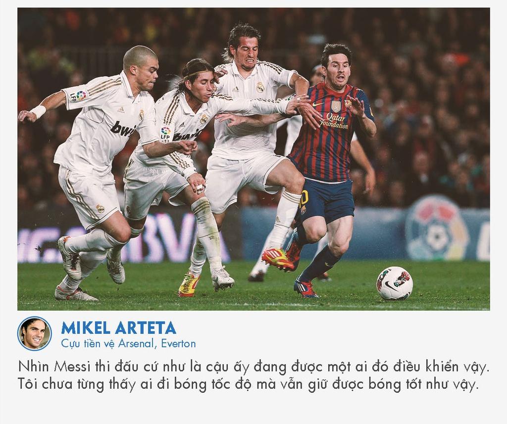 Cac huyen thoai bong da noi gi ve Messi? hinh anh 10