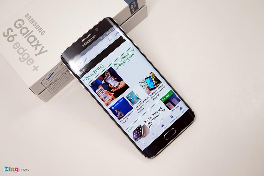 Mo hop Galaxy S6 edge+ chinh hang vua len ke o VN hinh anh 13