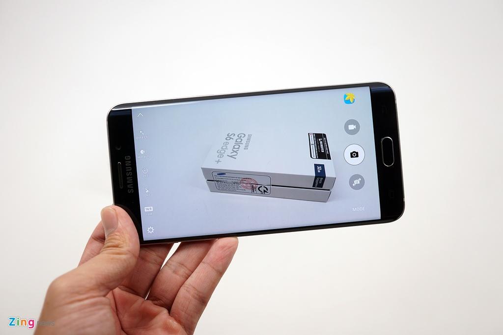 Mo hop Galaxy S6 edge+ chinh hang vua len ke o VN hinh anh 10