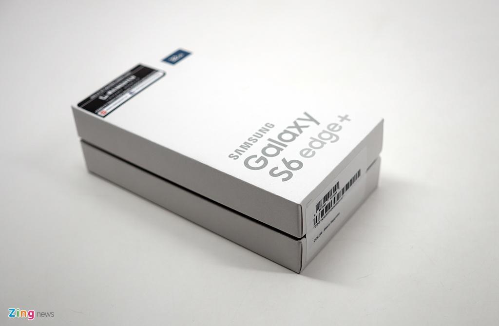 Mo hop Galaxy S6 edge+ chinh hang vua len ke o VN hinh anh 1
