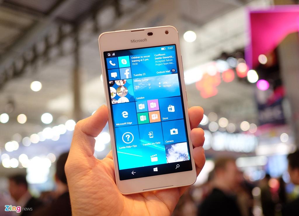 Lumia 650 vo kim loai, dang mong xuat hien tai MWC 2016 hinh anh 1