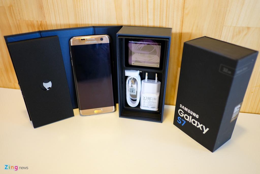 Mo hop Galaxy S7 va S7 edge sap ban o Viet Nam hinh anh 2