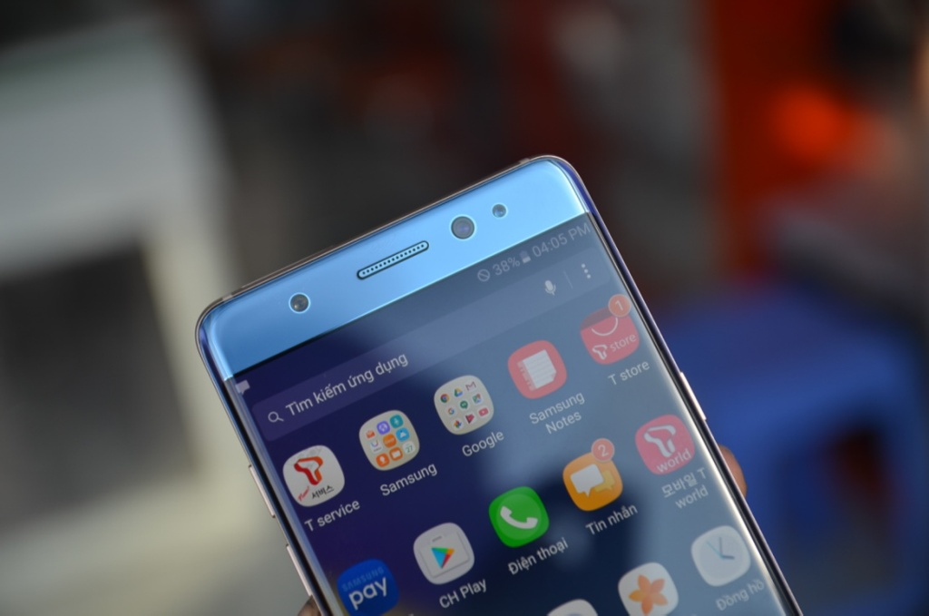 Galaxy Note 7 Blue Coral o Viet Nam anh 9