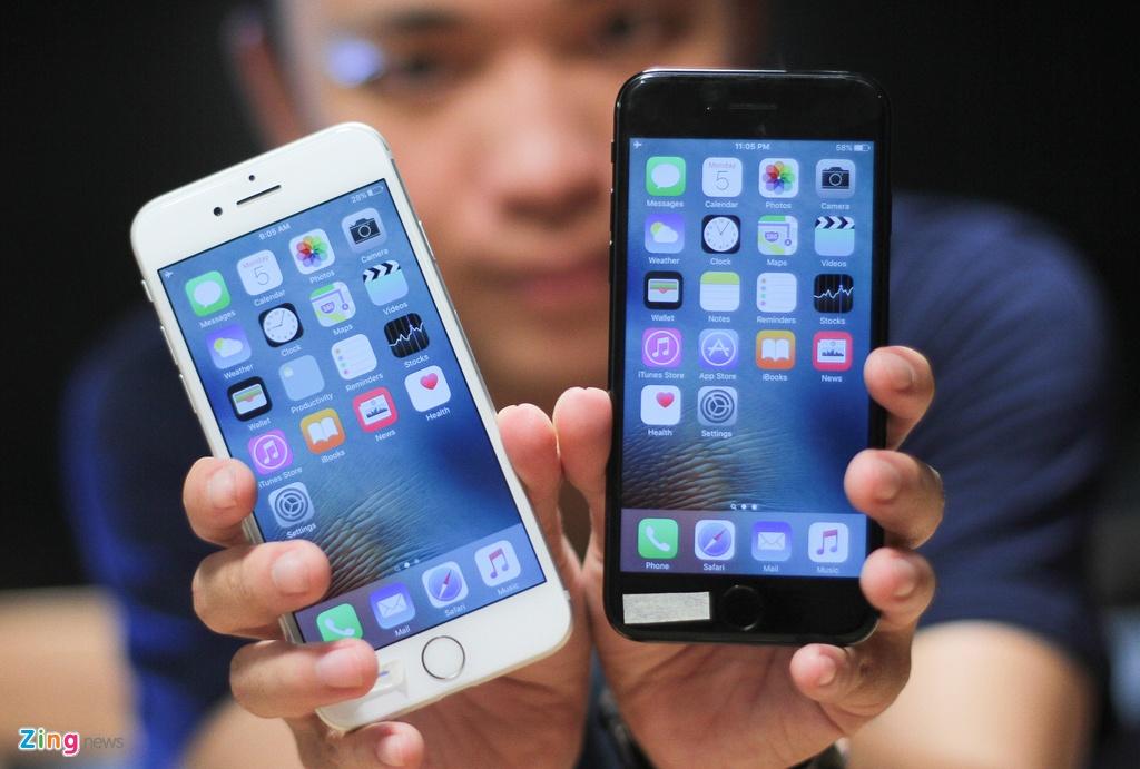 iPhone 7 o Viet Nam anh 1