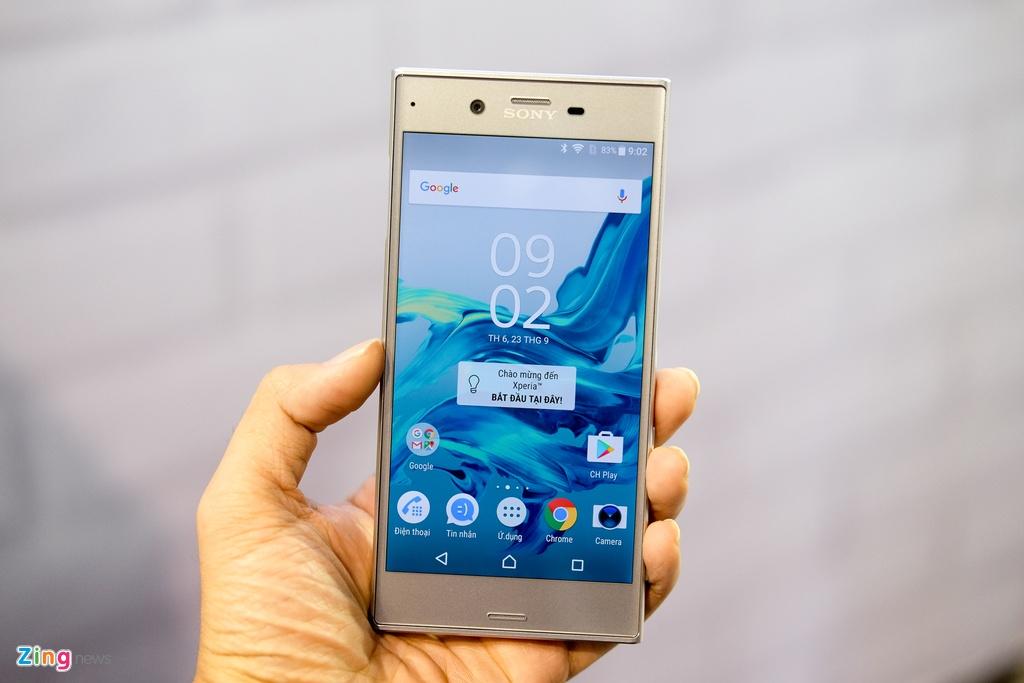 Anh Sony Xperia XZ gia 14,9 trieu dong tai Viet Nam hinh anh 1