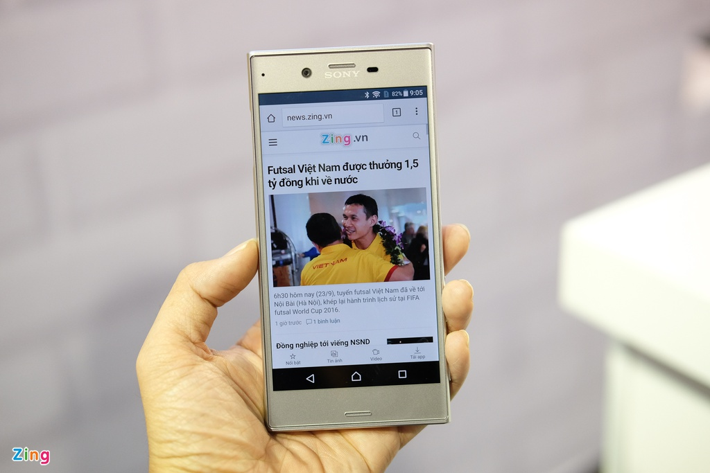 Anh Sony Xperia XZ gia 14,9 trieu dong tai Viet Nam hinh anh 9