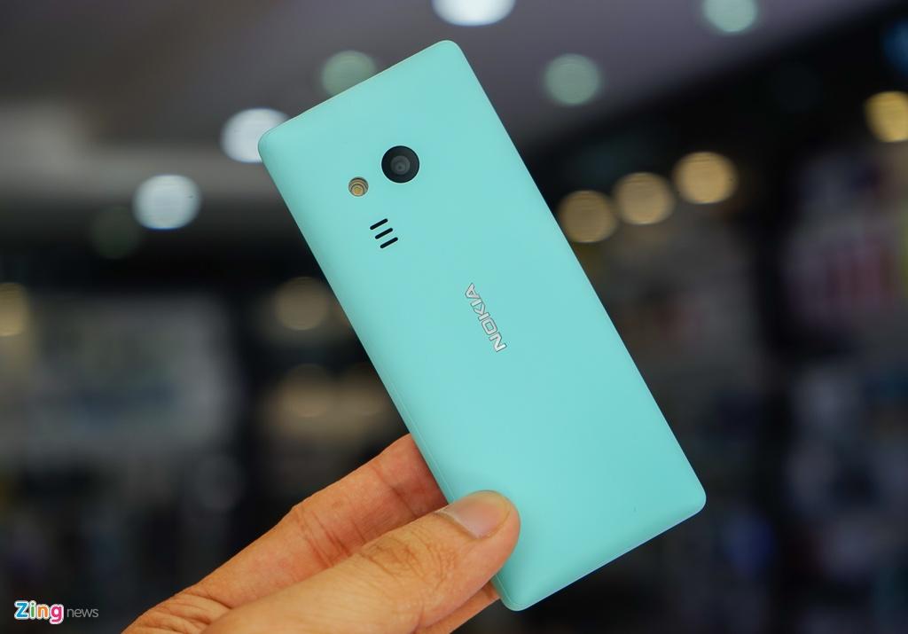 Mo hop 'cuc gach' Nokia 216 co camera selfie vua ban o VN hinh anh 5