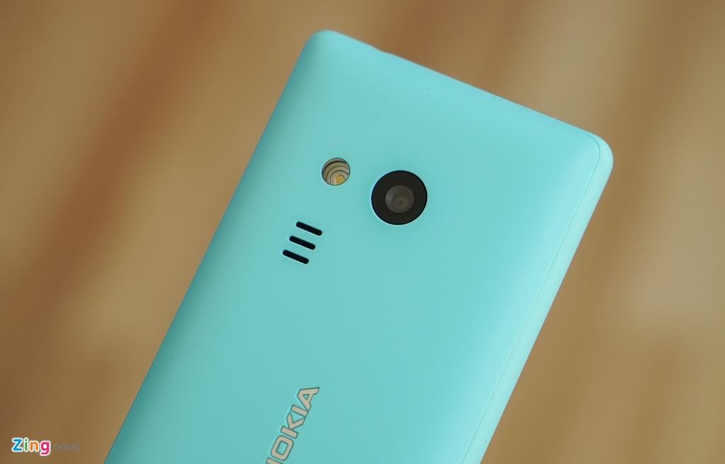 Mo hop 'cuc gach' Nokia 216 co camera selfie vua ban o VN hinh anh 6