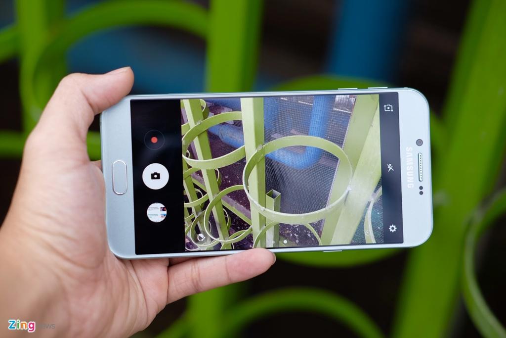Galaxy A8 2016 xanh ngoc xach tay ve VN, gia 9 trieu dong hinh anh 7