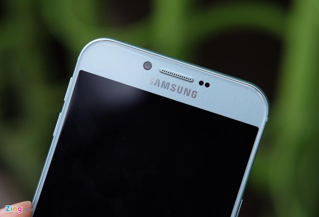 Galaxy A8 2016 xanh ngoc xach tay ve VN, gia 9 trieu dong hinh anh 10
