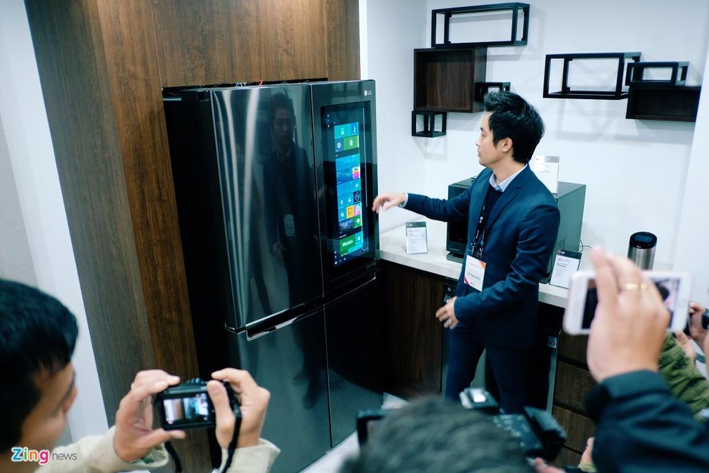 LG G6, TV OLED dan tuong, tu lanh dung Windows 10 tai InnoFest 2017 hinh anh 11
