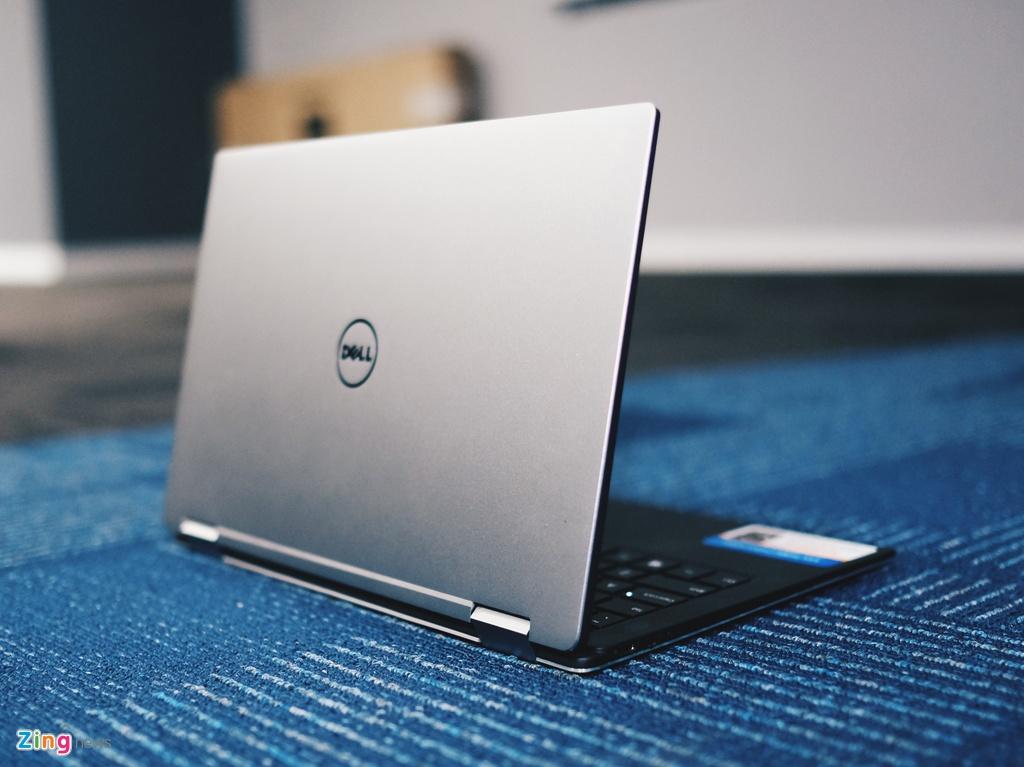 Anh laptop sieu mong Dell XPS 13 2-trong-1 gia 55 trieu vua ve VN hinh anh 7