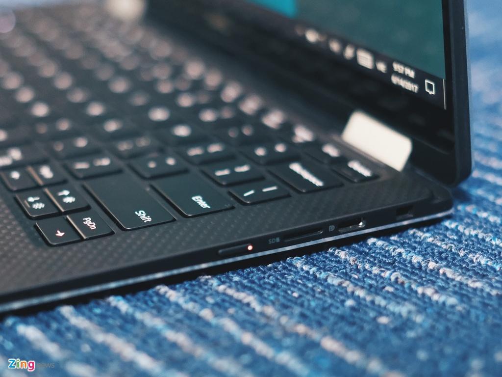 Anh laptop sieu mong Dell XPS 13 2-trong-1 gia 55 trieu vua ve VN hinh anh 6