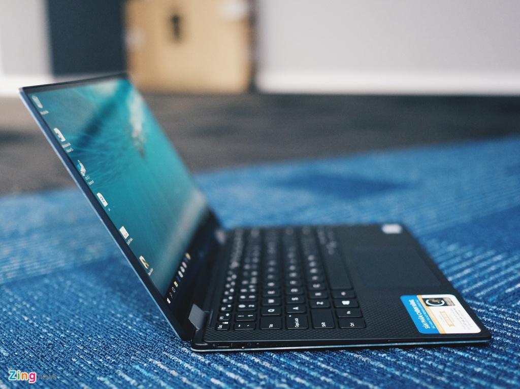 Anh laptop sieu mong Dell XPS 13 2-trong-1 gia 55 trieu vua ve VN hinh anh 4
