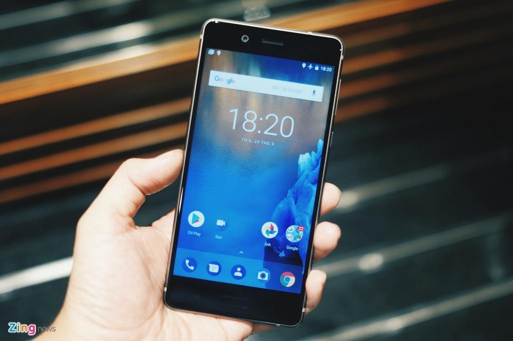 Nokia 8 ra mat o Viet Nam anh 4