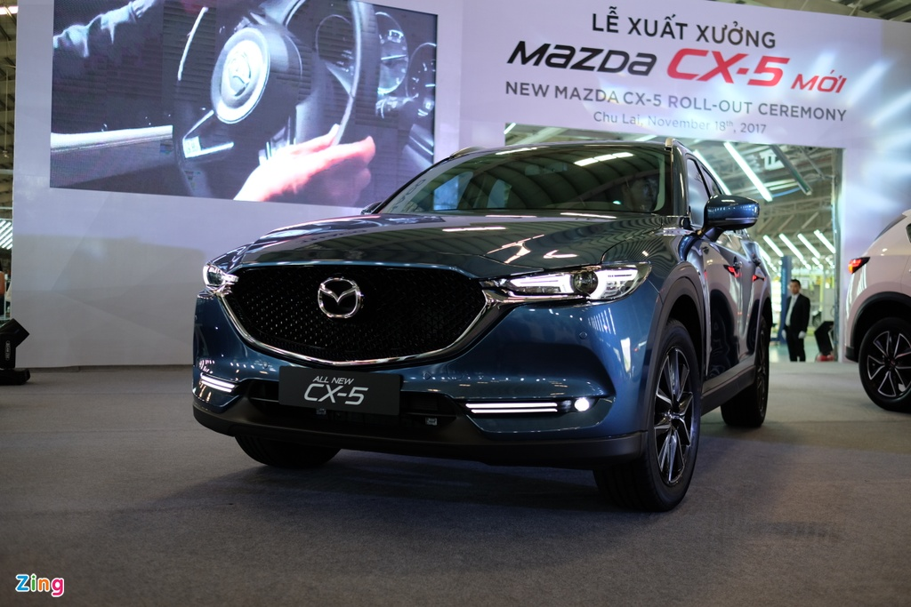 Mazda CX-5 2018 gia tu 879 trieu dong tai Viet Nam hinh anh 2